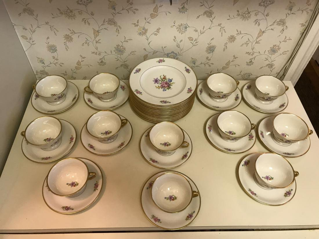PICKARD PORCELAIN SERVICE GROUPING - 4