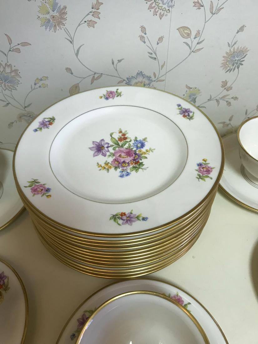 PICKARD PORCELAIN SERVICE GROUPING - 6