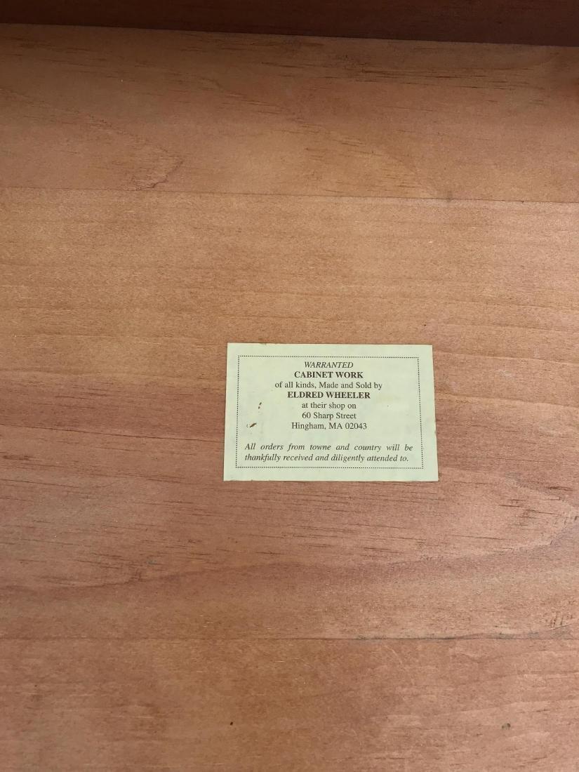 ELDRED WHEELER HIGHBOY QUEEN ANNE STYLE CHEST - 4