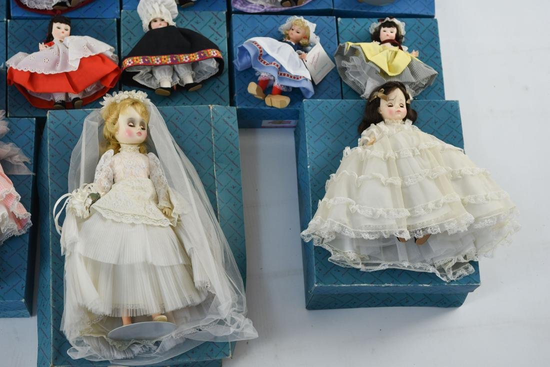 LARGE GROUPING OF MADAME ALEXANDER DOLLS - 8