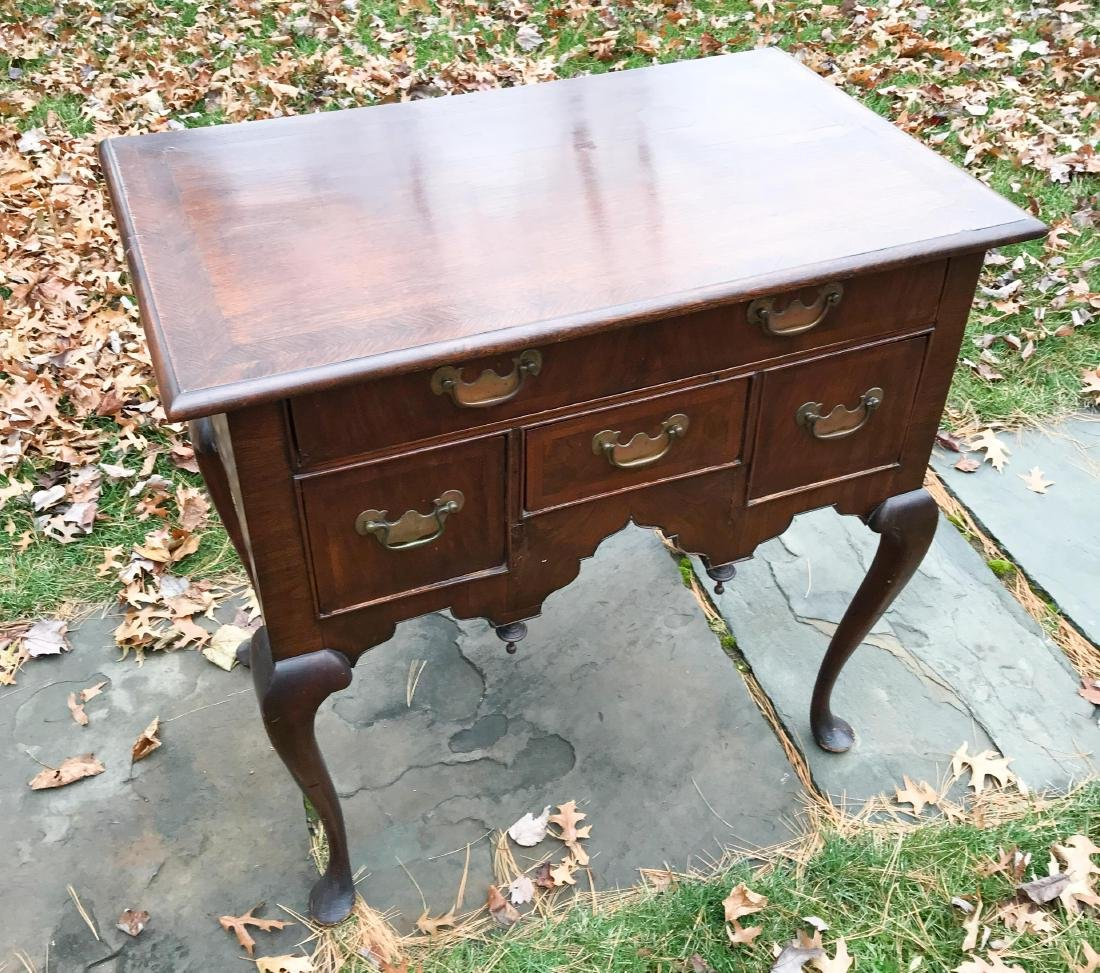 19TH C. QUEEN ANNE STYLE LOW BOY CHEST - 2