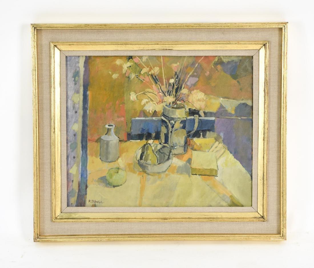 ROBERT PALMER RBA, ROI (1927-2005) STILL LIFE O/C