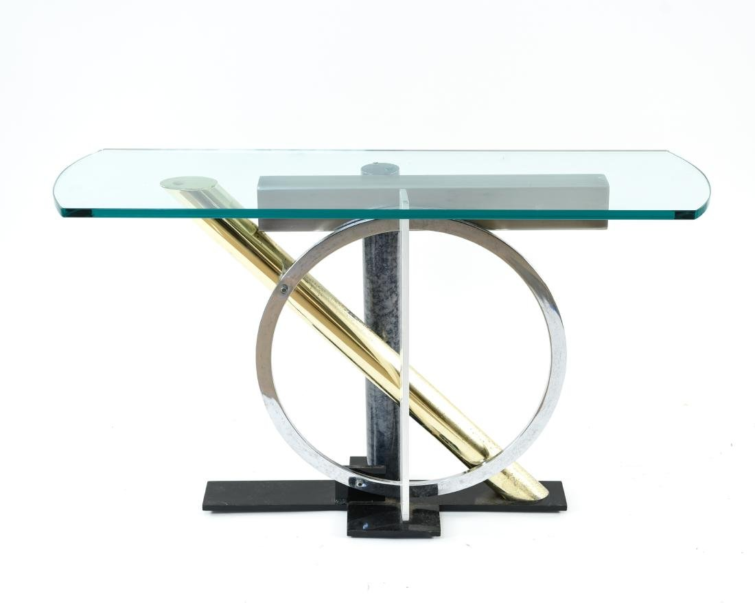 MODERNIST CONSOLE TABLE