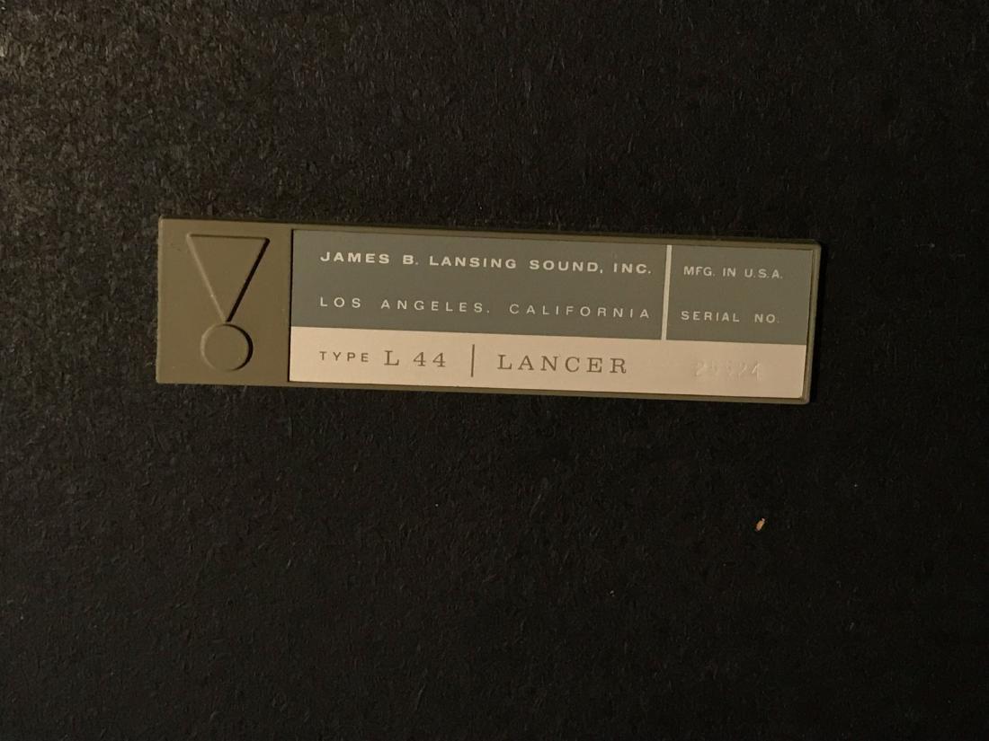 JBL L44 LANCER SPEAKERS - 7