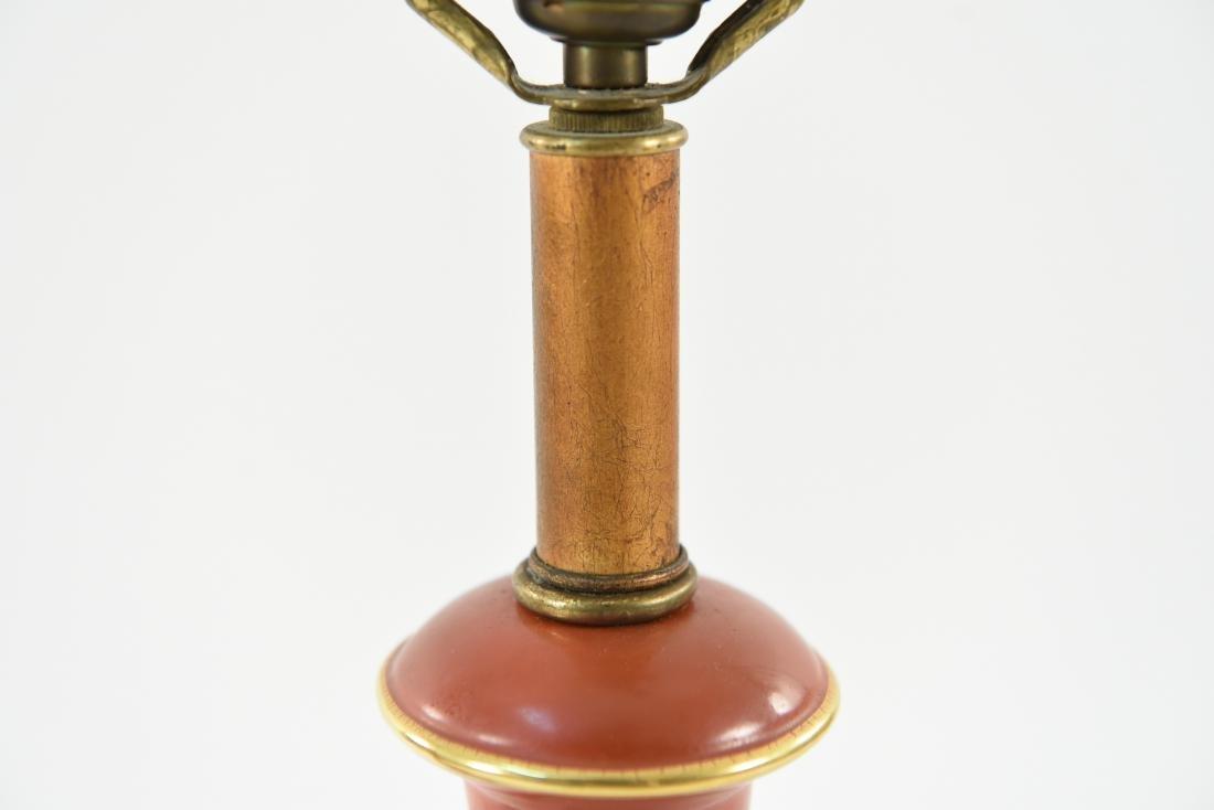 PAIR OF ASIAN PORCELAIN LAMPS - 5