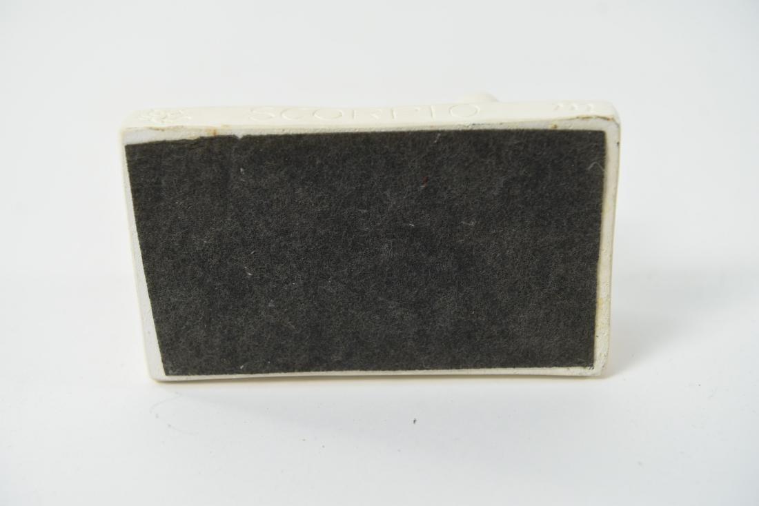 "TOM OTTERNESS PLASTER SCULPTURE ""SCORPIO"" 1982 - 6"