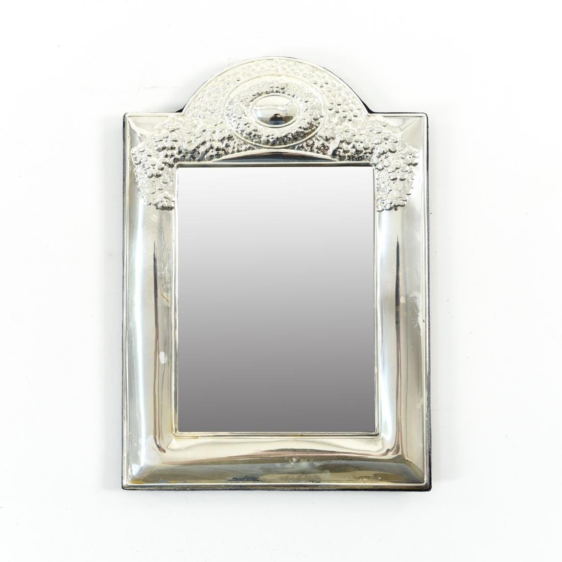 SILVER TRAY AND SILVER MIRROR - 2