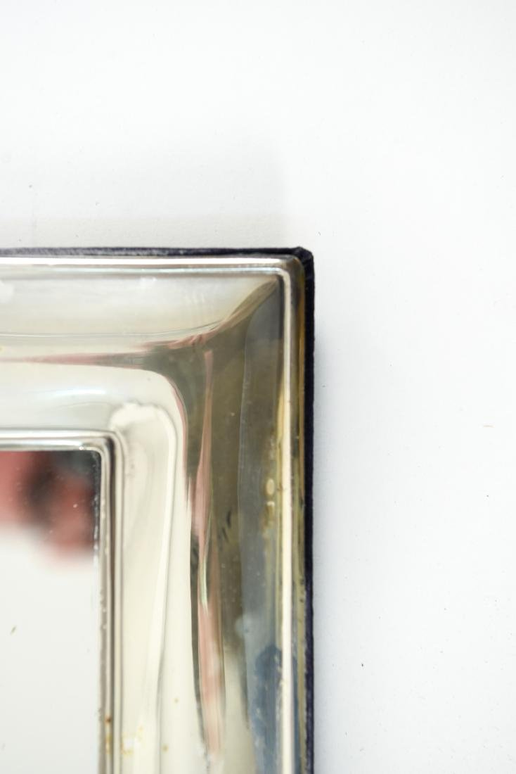 SILVER TRAY AND SILVER MIRROR - 4