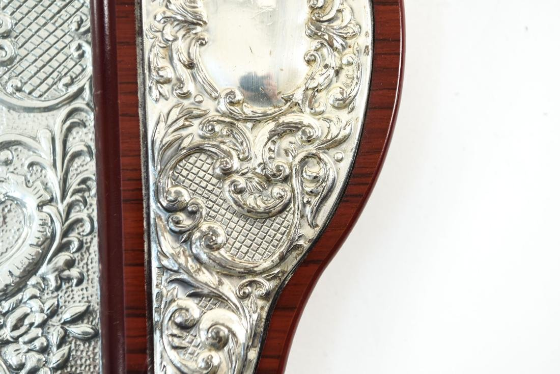 SILVER TRAY AND SILVER MIRROR - 9