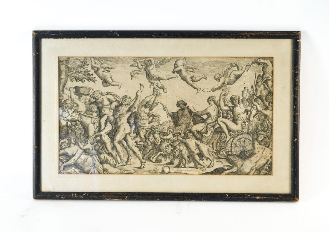 AFTER ANNIBALE CARACCI ENGRAVING