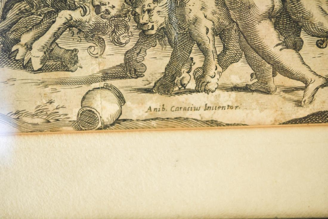 AFTER ANNIBALE CARACCI ENGRAVING - 2