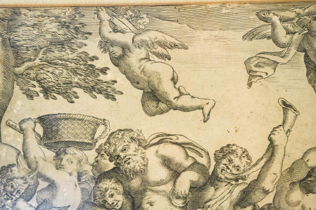 AFTER ANNIBALE CARACCI ENGRAVING - 3
