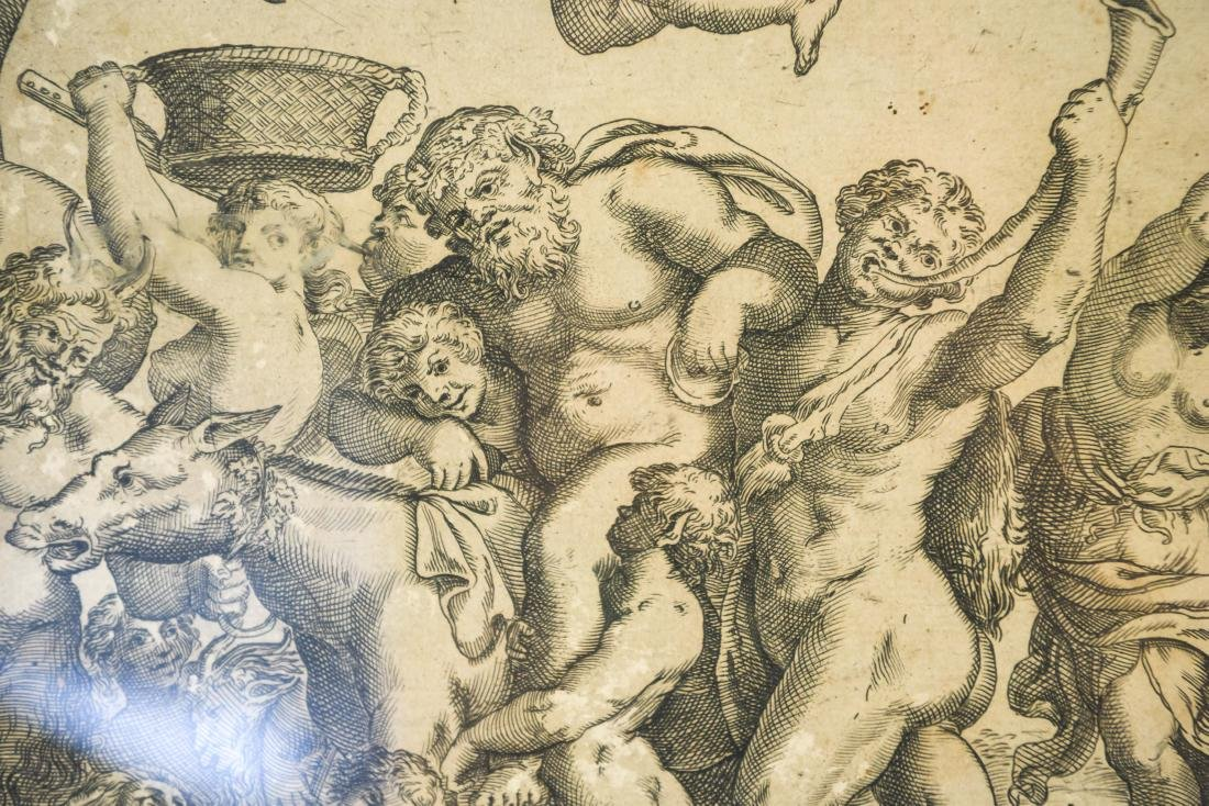 AFTER ANNIBALE CARACCI ENGRAVING - 4