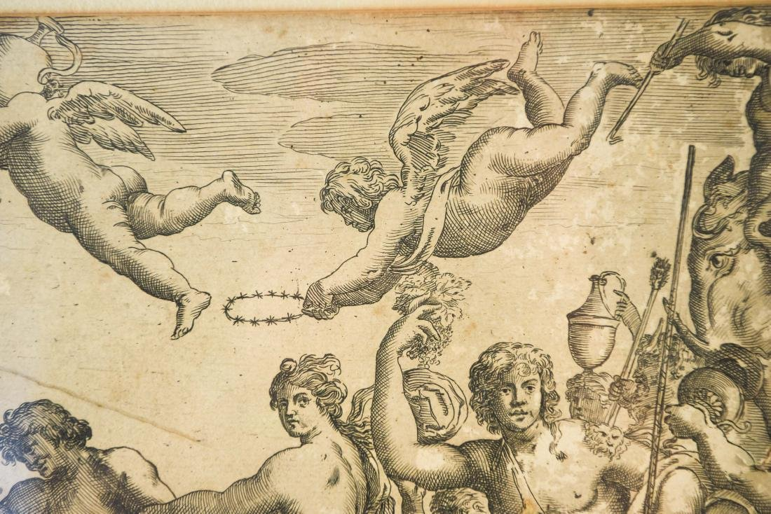 AFTER ANNIBALE CARACCI ENGRAVING - 8