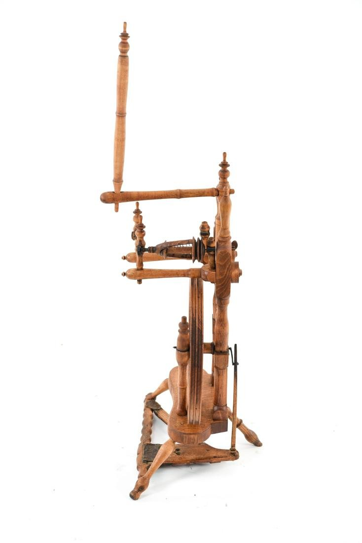 19TH. C UPRIGHT WINDER - 9