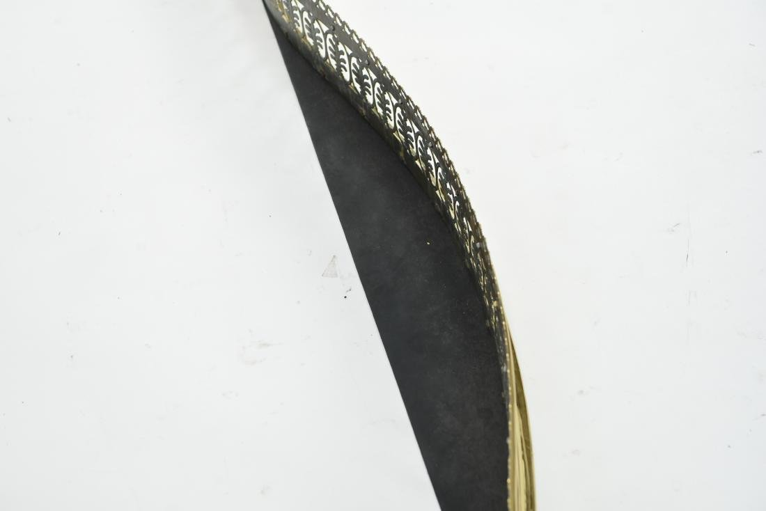 1920S BRASS FIRE FENDER - 5