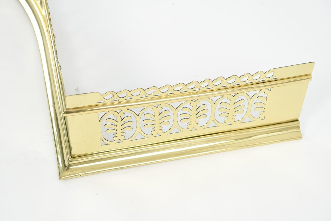 1920S BRASS FIRE FENDER - 9