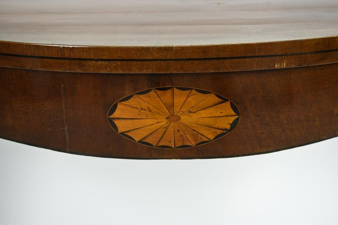 MAHOGANY CONSOLE TABLE - 3