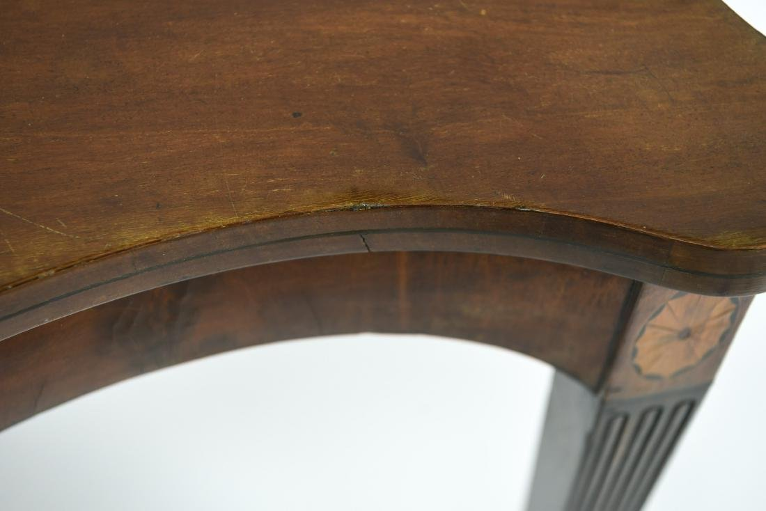 MAHOGANY CONSOLE TABLE - 6