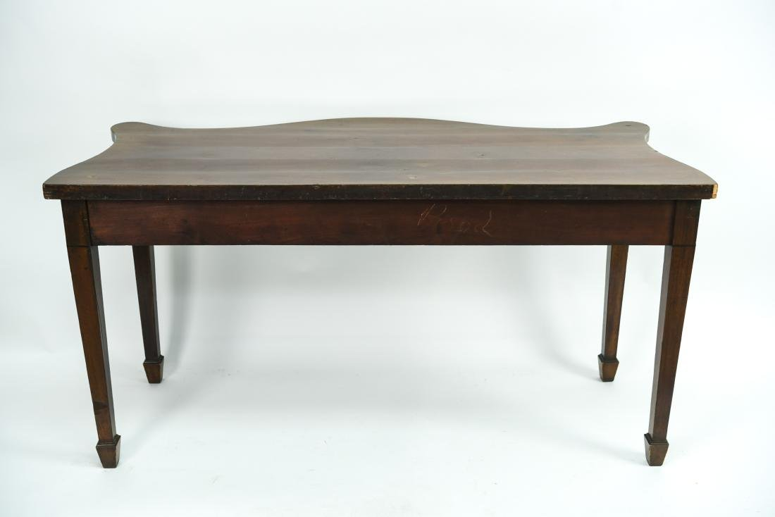 MAHOGANY CONSOLE TABLE - 9