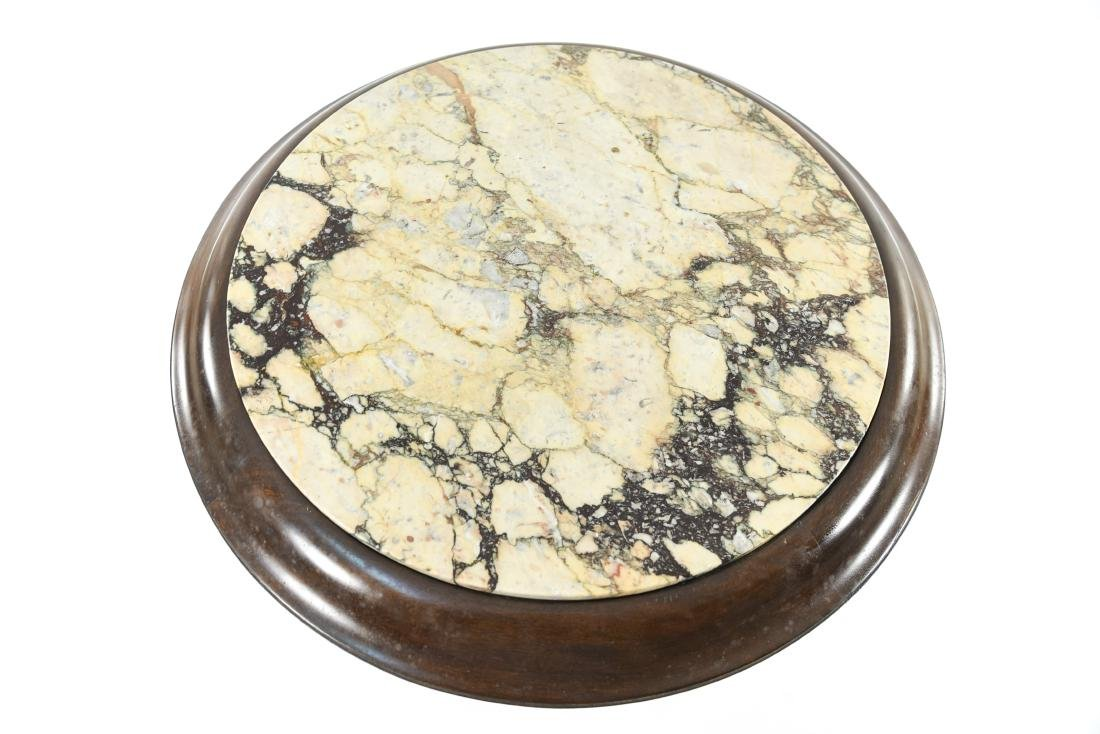 MARBLE TOP SIDE TABLE - 5