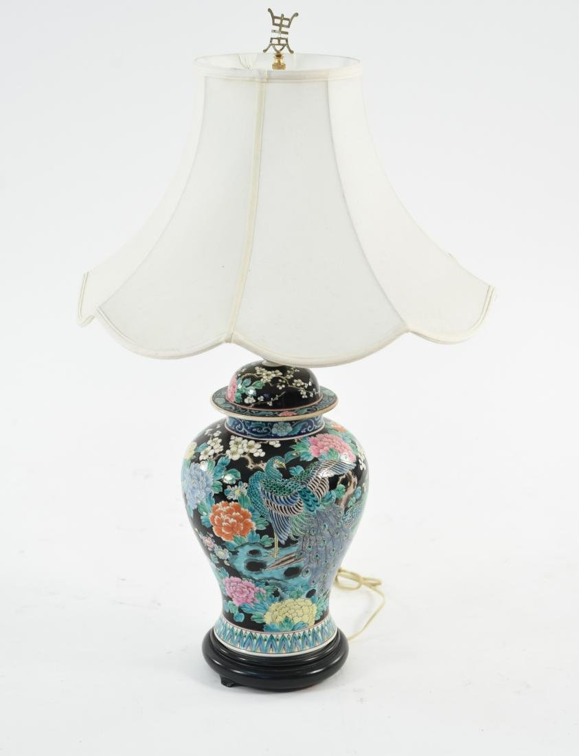 1950S CHINESE PORCELAIN LAMP