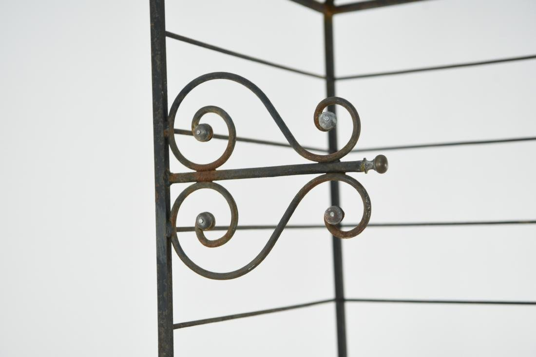 IRON AND BRASS BAKERS RACK CORNER ETAGERE - 6