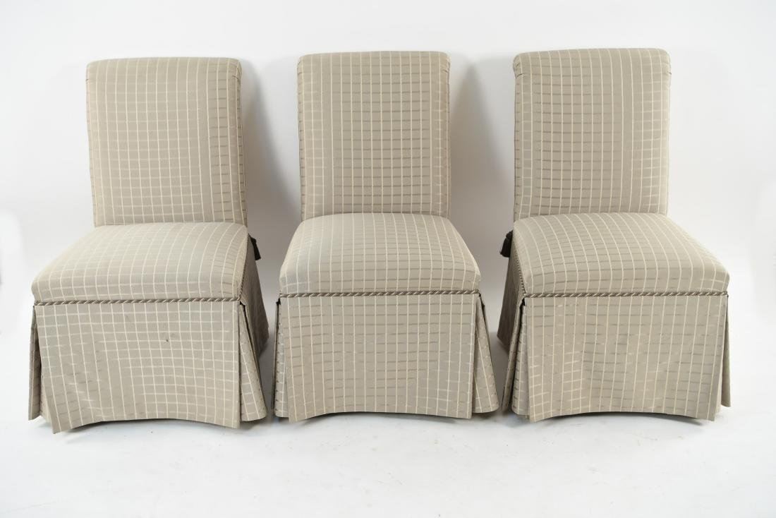(6) UPHOLSTERED DINING CHAIRS - 2