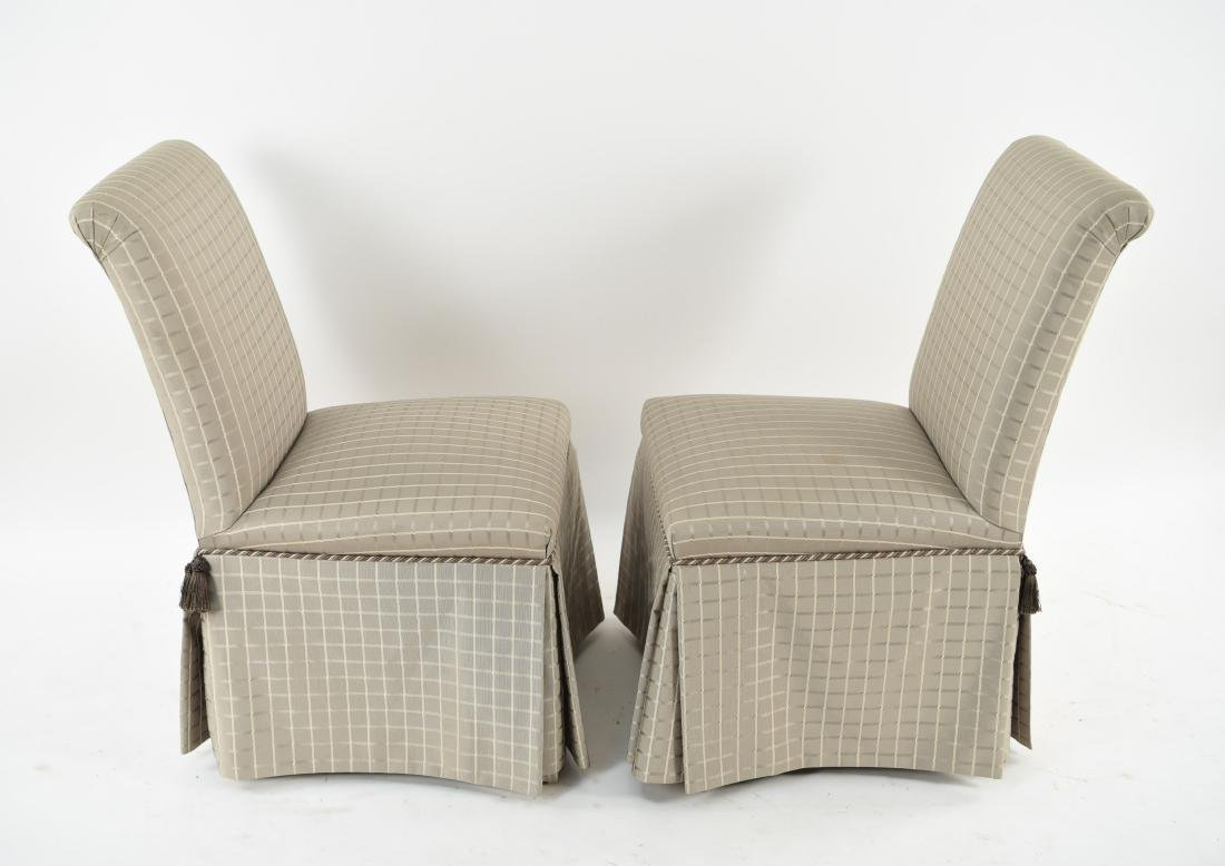 (6) UPHOLSTERED DINING CHAIRS - 9