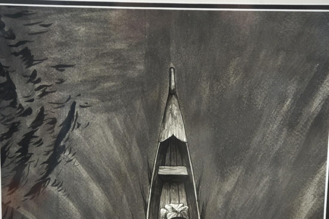 CANOE ARTWORK - 6