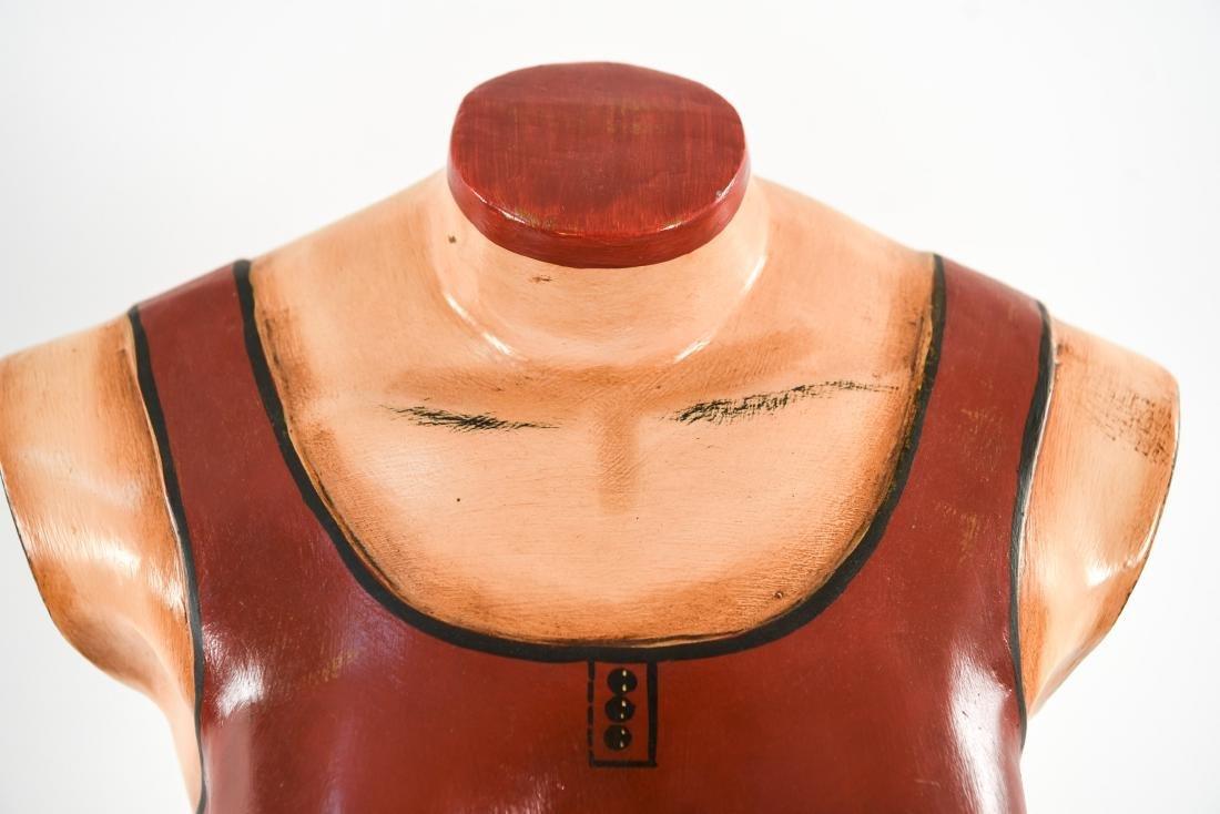 MANNEQUIN BUST DRESS FORM STAND - 5