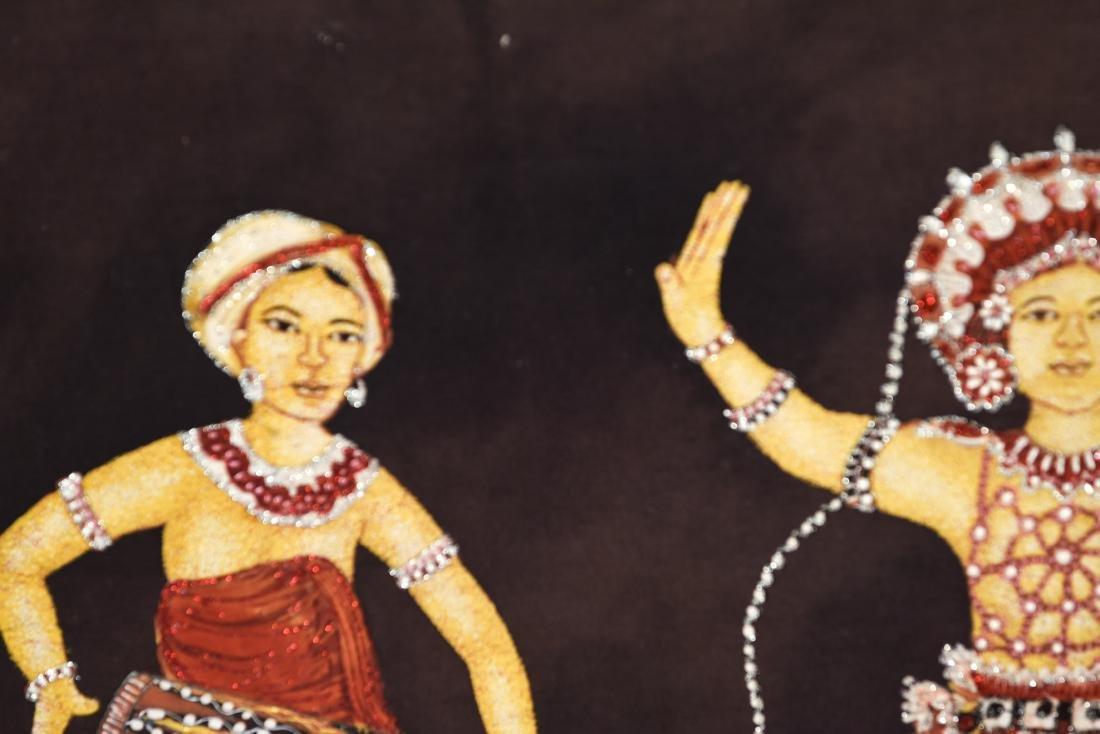 DANCER ARTWORK ON FABRIC - 2