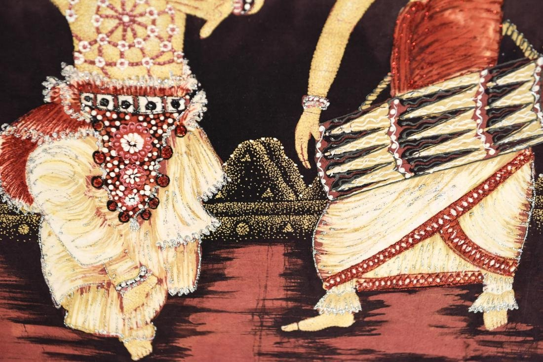 DANCER ARTWORK ON FABRIC - 7