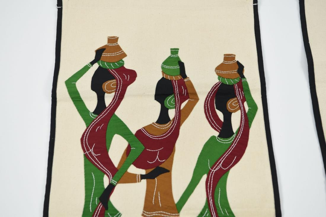 (2) AFRICAN STYLE TEXTILES - 5