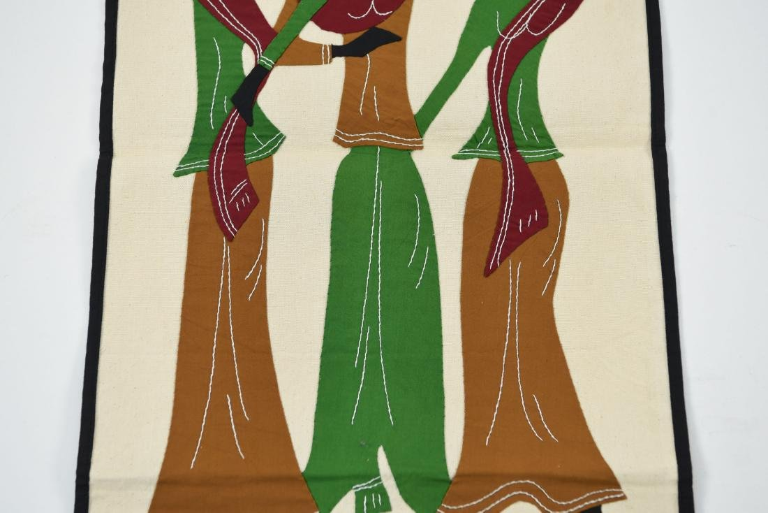 (2) AFRICAN STYLE TEXTILES - 6