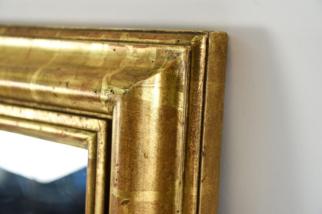 DECORATIVE GOLD FRAME MIRROR - 5