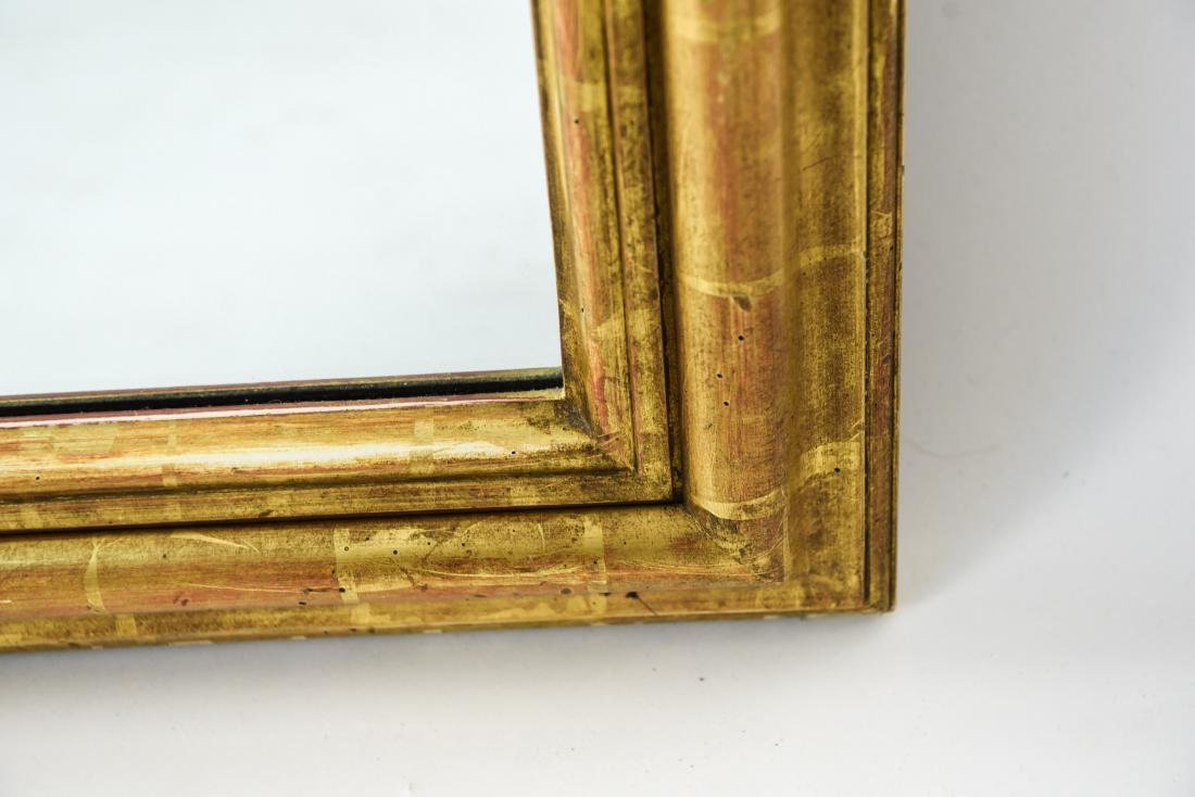 DECORATIVE GOLD FRAME MIRROR - 7