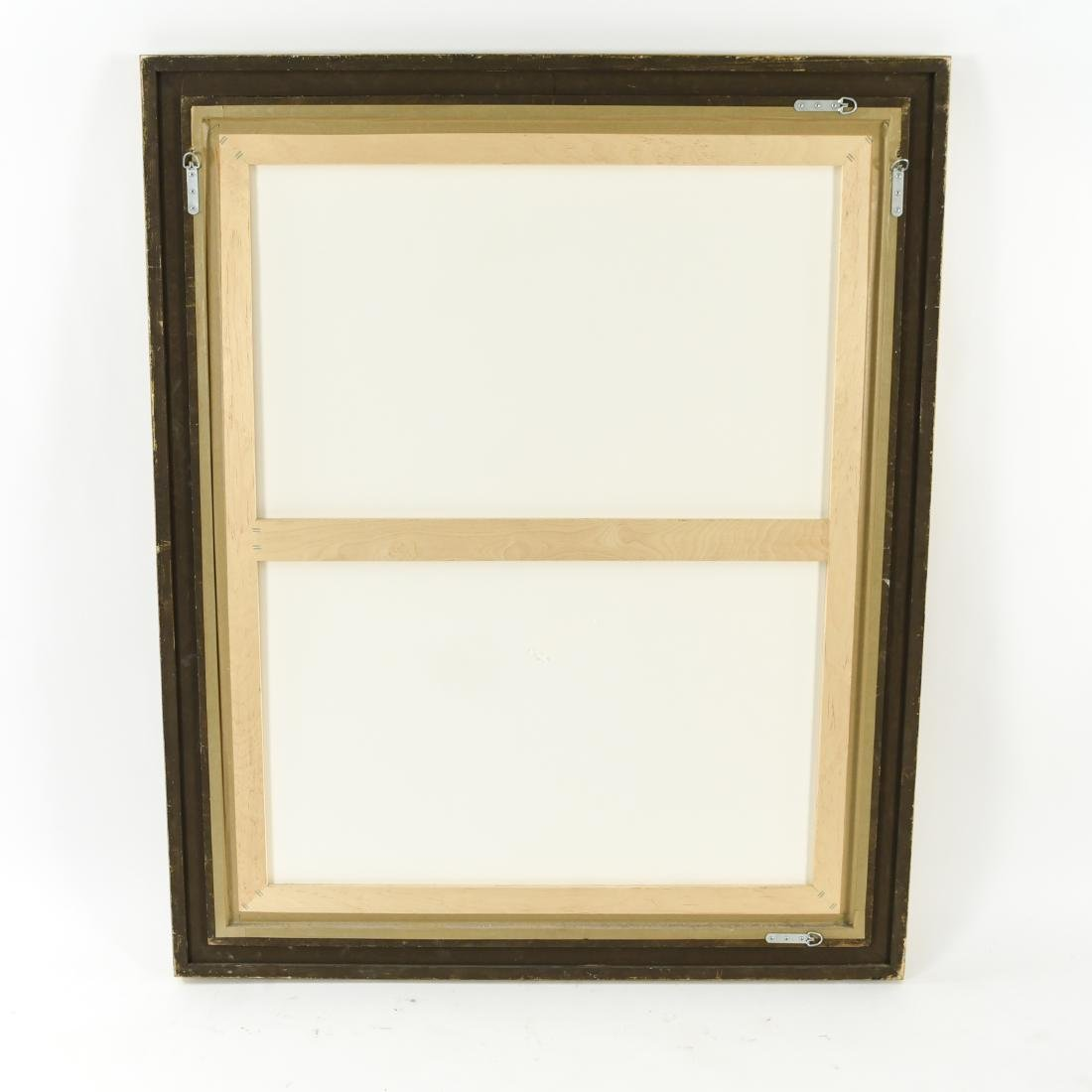 DECORATIVE GOLD FRAME MIRROR - 8