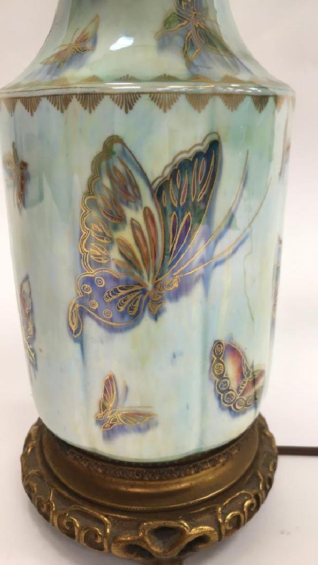 CERAMIC BUTTERFLY LAMP - 3
