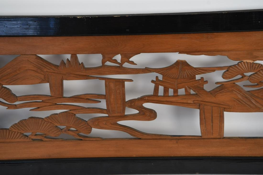 ASIAN WOOD CARVING - 5