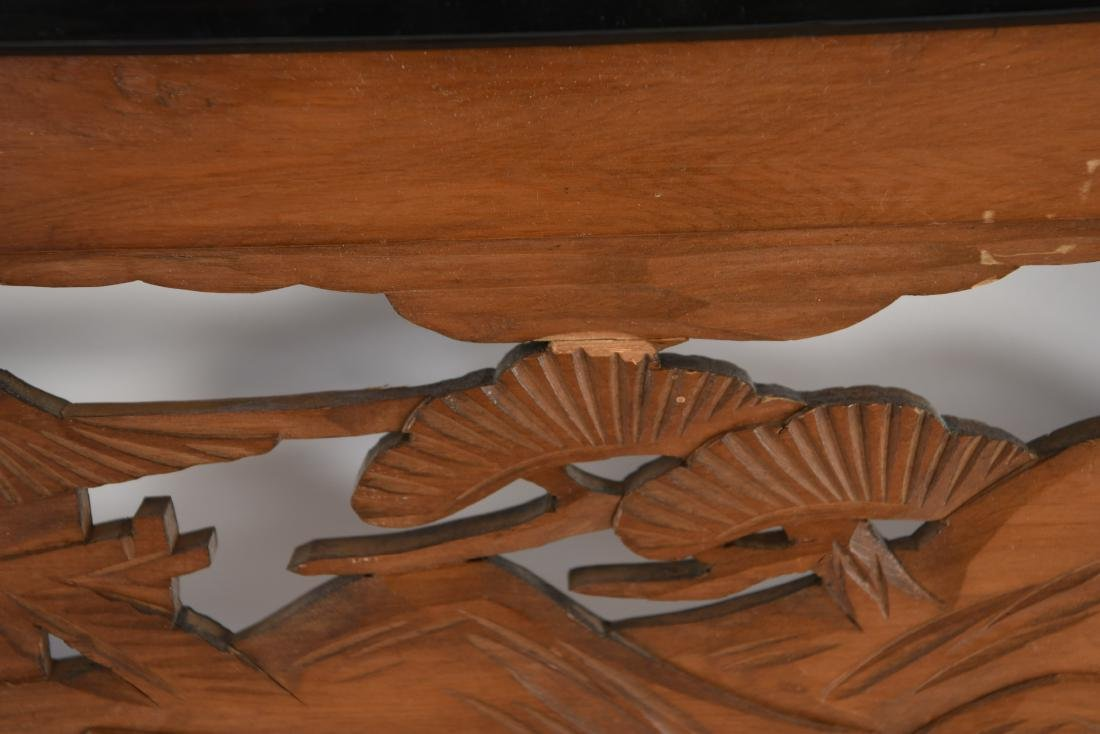 ASIAN WOOD CARVING - 7