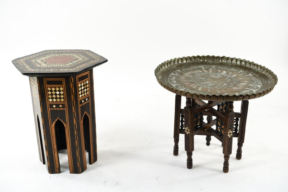 (2) MIDDLE EASTERN TABLES