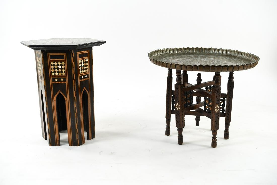(2) MIDDLE EASTERN TABLES - 2