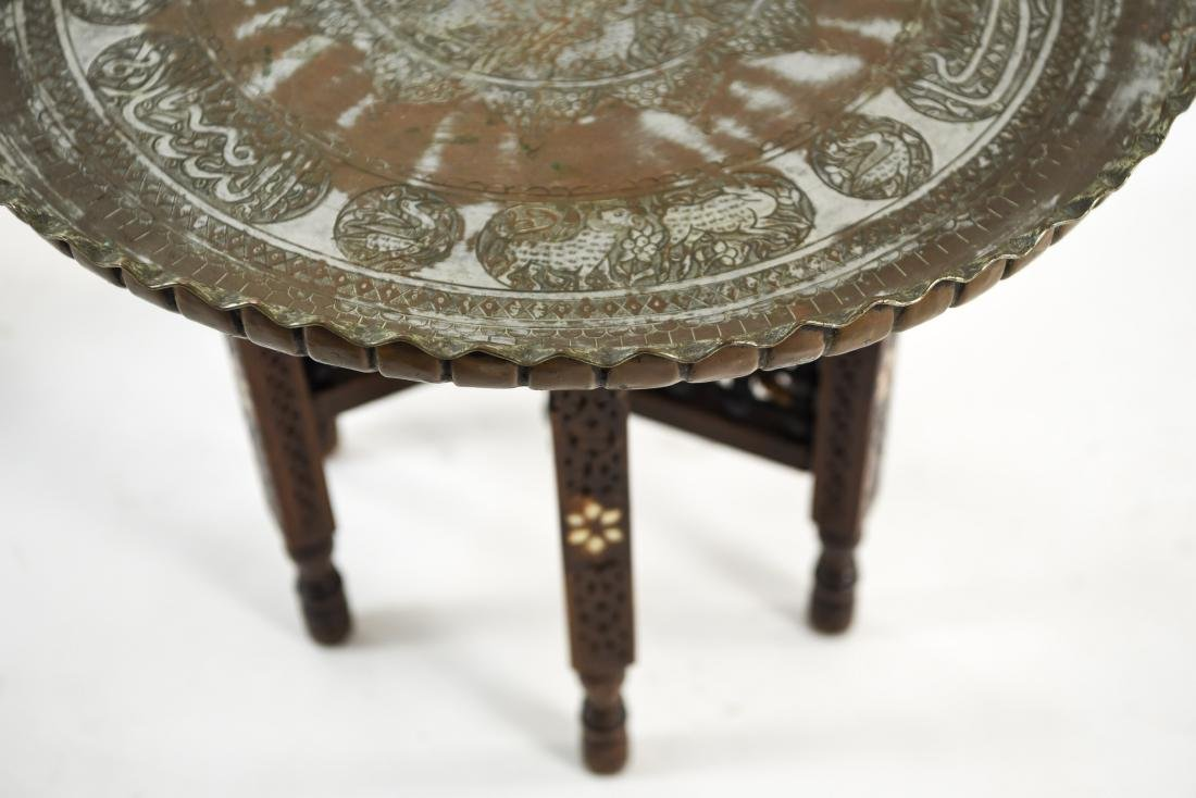 (2) MIDDLE EASTERN TABLES - 5