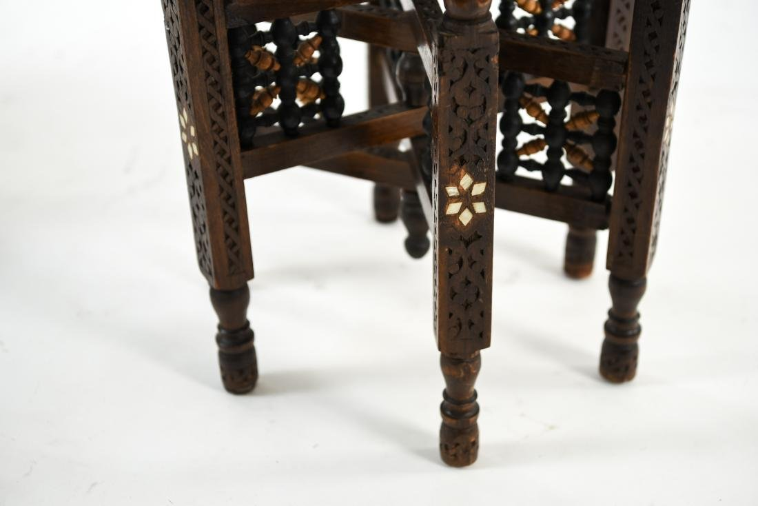 (2) MIDDLE EASTERN TABLES - 6