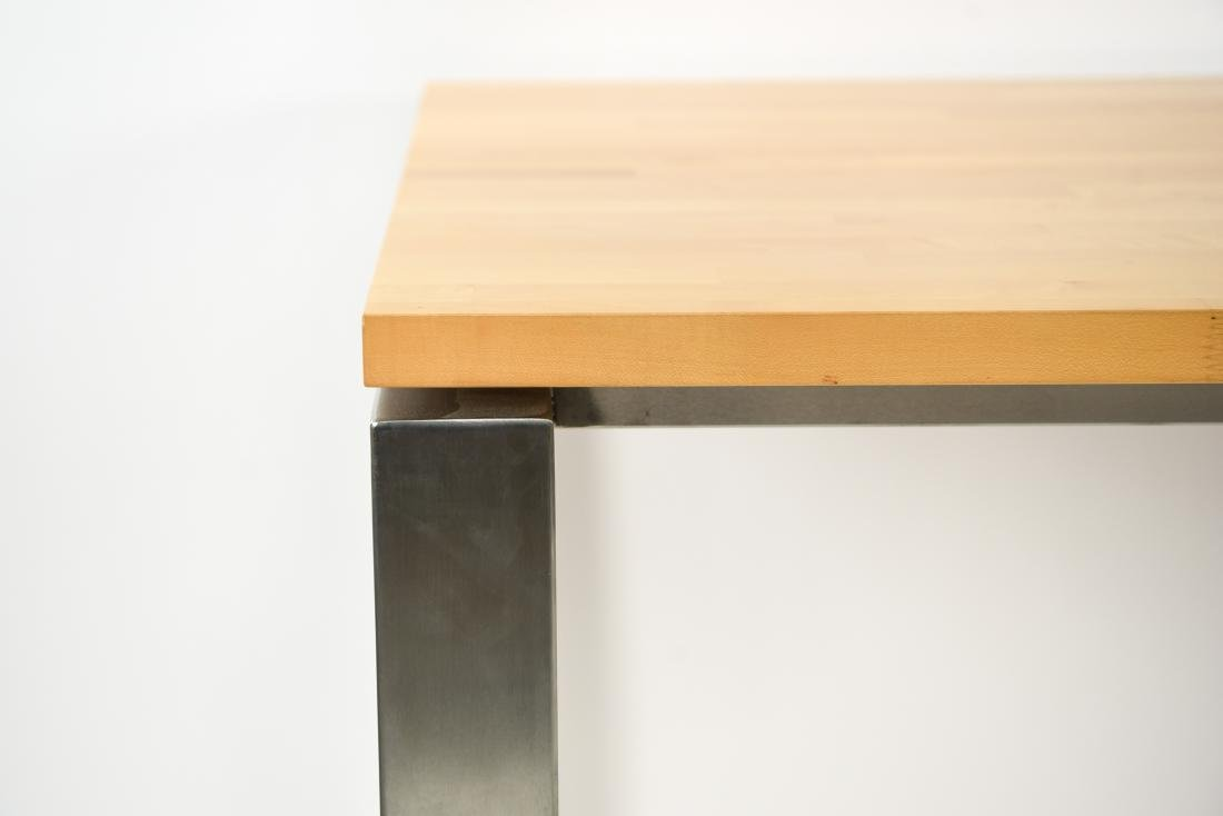 METAL & WOOD DINING TABLE - 2