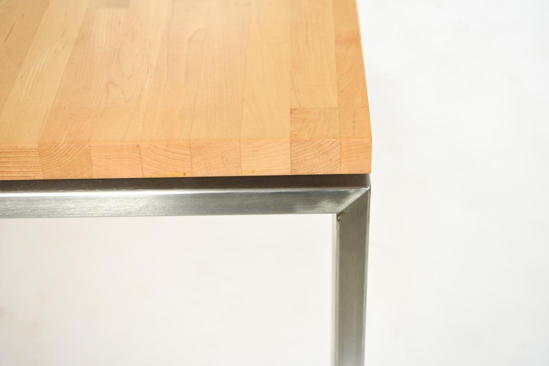 METAL & WOOD DINING TABLE - 3
