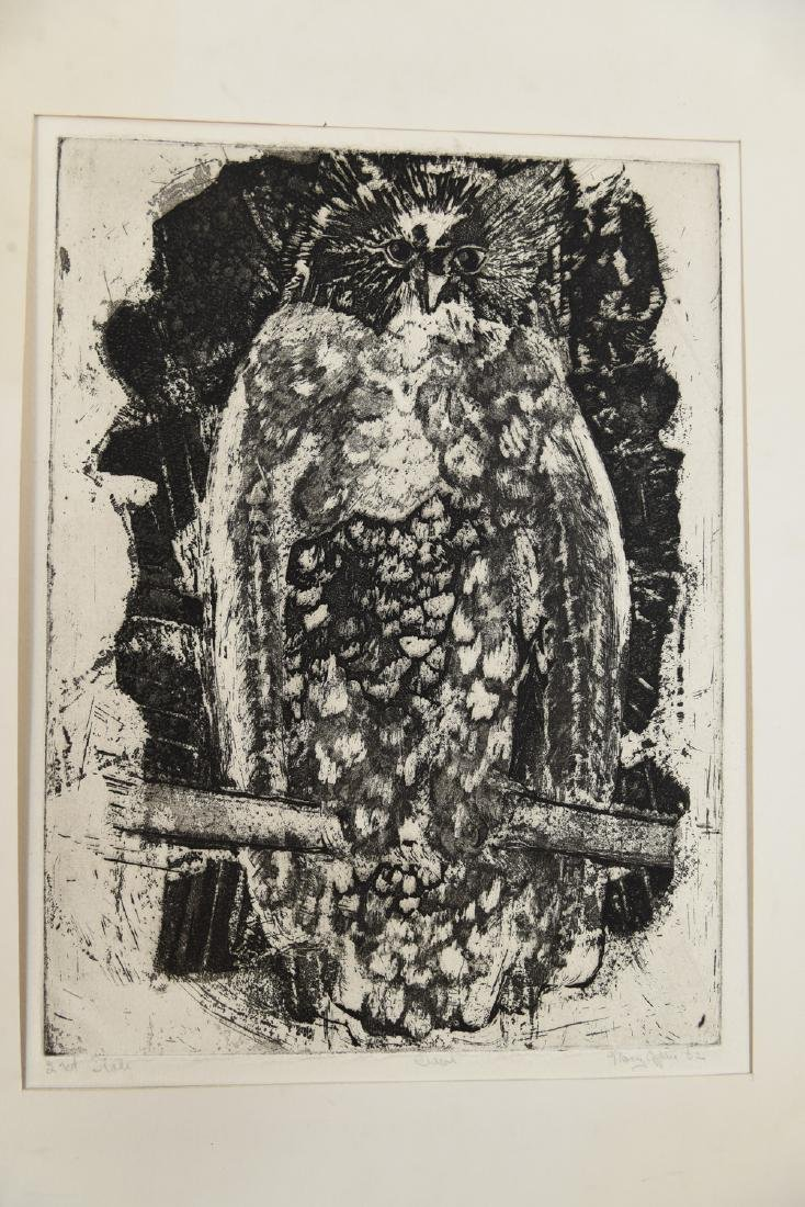 MARY OPPEN ETCHING - 2