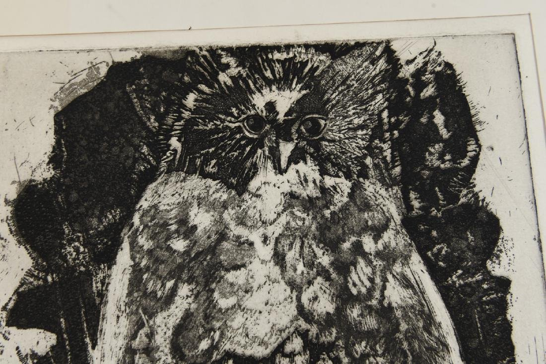 MARY OPPEN ETCHING - 3