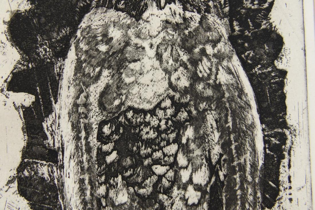 MARY OPPEN ETCHING - 4